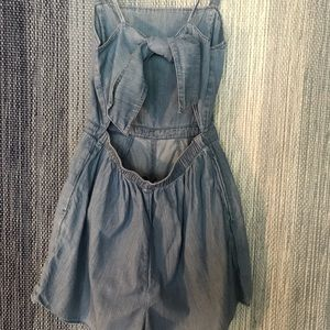 Hollister Denim Romper